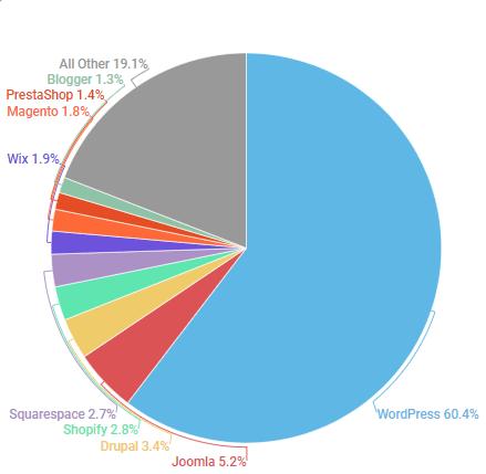 סטטיסטיקות שימוש CMS 2019
